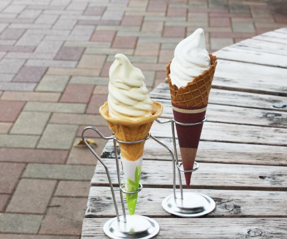 四季折々のソフトクリームをお楽しみいただけます。